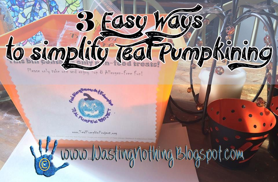 The Teal Pumpkin Project. Have you heard about this? This post lets you know just how easy it is to participate.