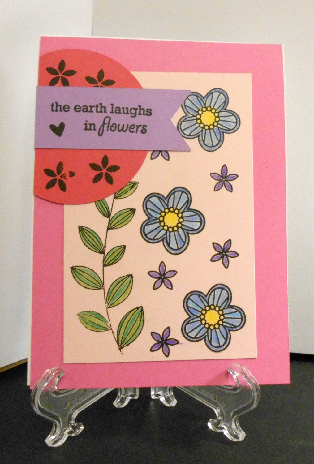 Laughing flowers by Ginadapooh on Etsy
