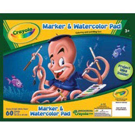 Crayola Marker Watercolor Pad White Products Paint Pens