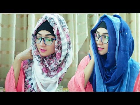 NO LAYER TOO MUCH EASY Beauty Hijab Style For School / Collage / University  Class