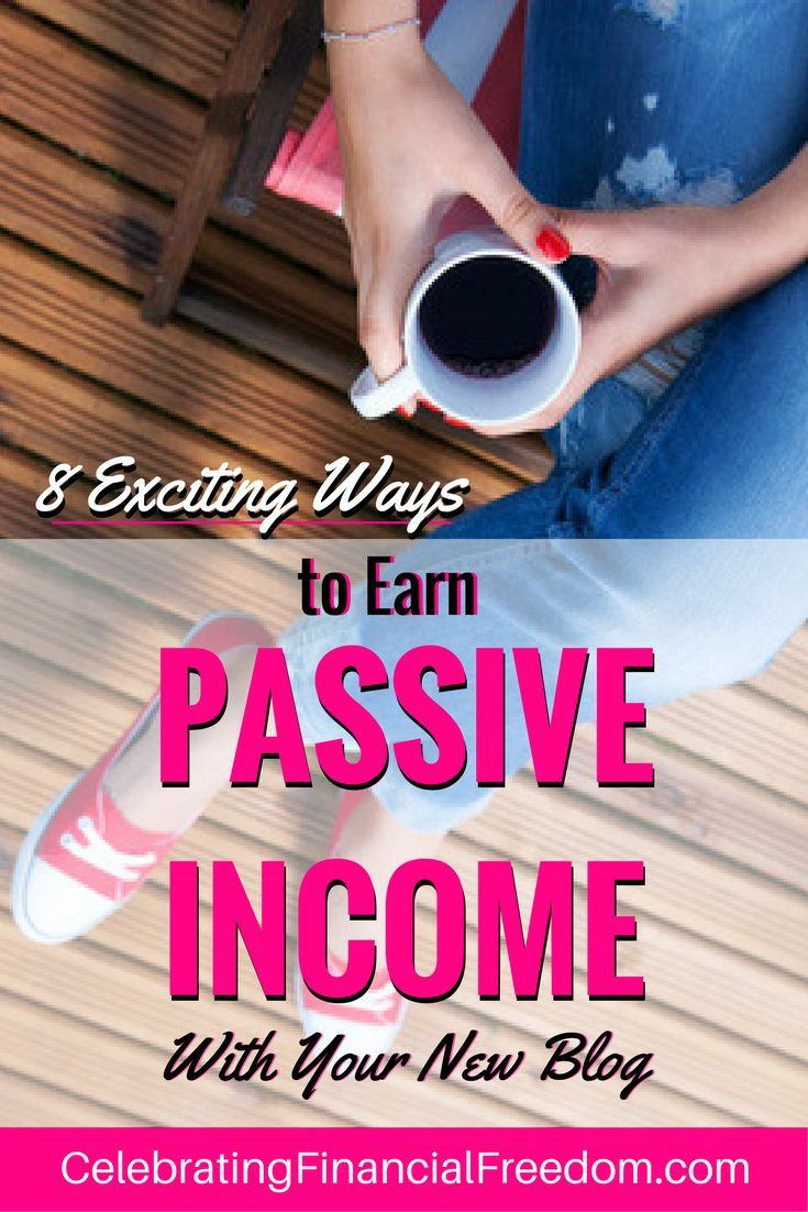 8 Exciting ways to earn passive income with your new blog. Make money while you sleep with these highly popular money making ideas you can use in your blog immediately!  #passiveincome #blog #blogging #howto  http://www.cfinancialfreedom.com/ways-to-earn-passive-income-with-new-blog/