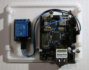 Arduino WiFi Garage Door Opener | Arduino, Smartphone and ...