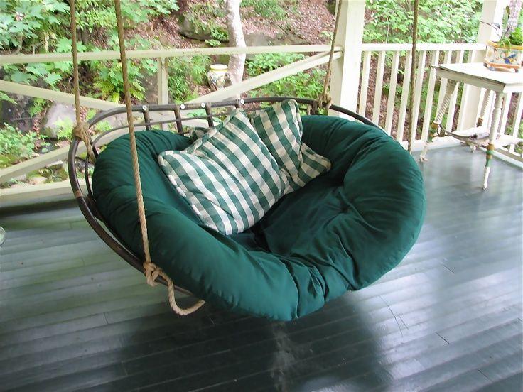 Outdoor Double Papasan Cushion