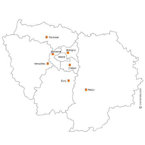 Carte Region D Ile De France Paris Carte Des Regions Ile De France Ile De France Carte