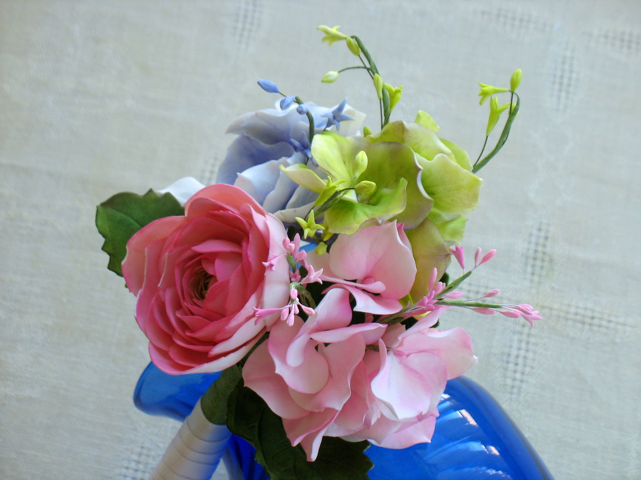 images of gumpaste flowers | gumpaste flower bouquet - Cake ...