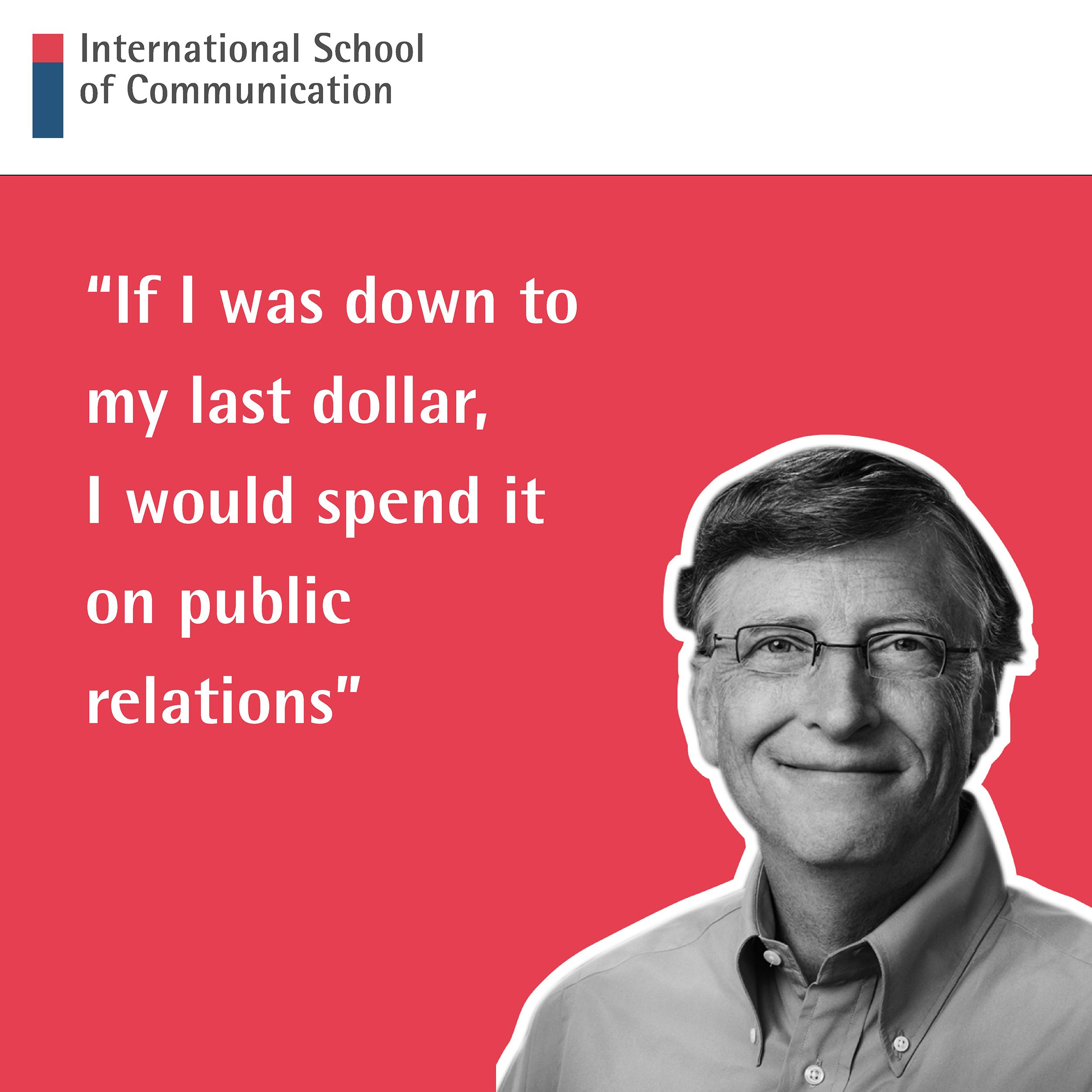 We Love This PR Quote From Bill Gates So Much It's Written