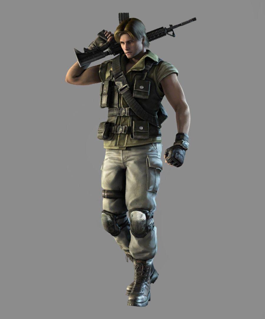 Carlos Oliveira Resident Evil Videogames Oliveira