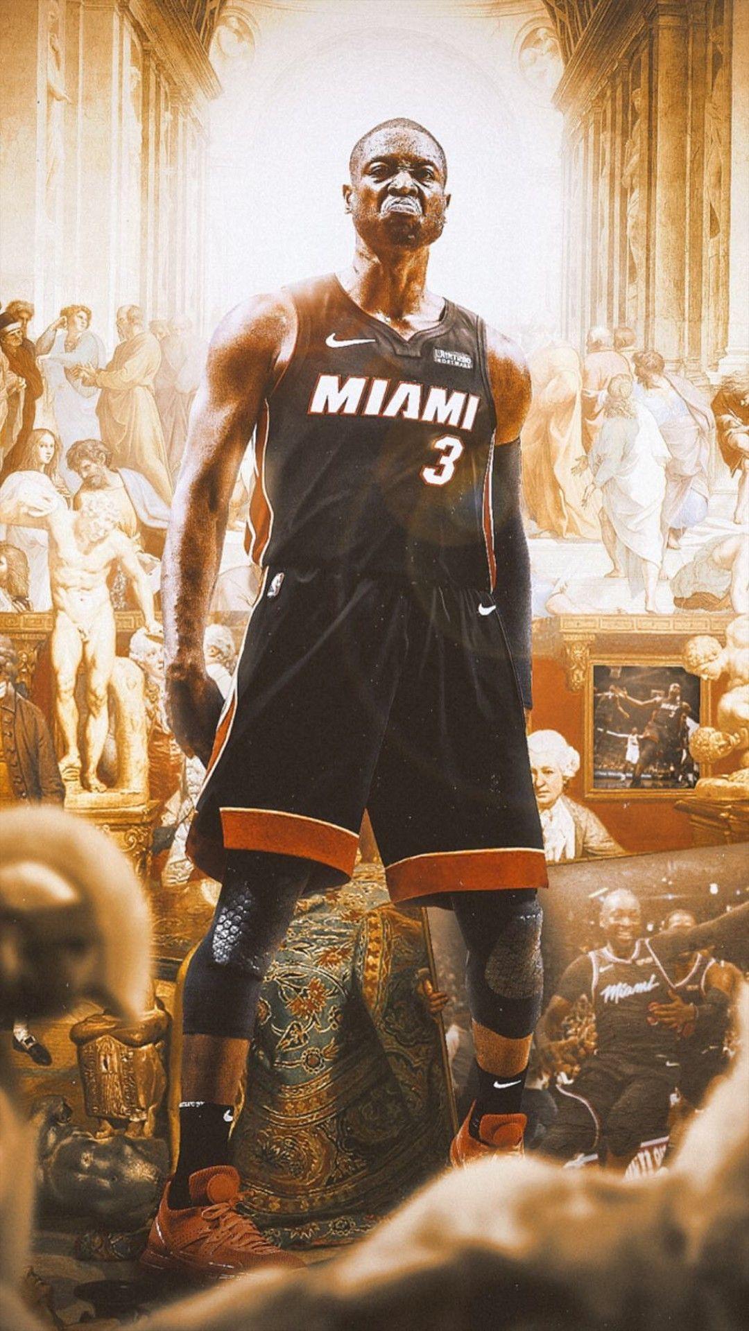 Dwayne Wade Wallpaper Nba Basketball Art Dwyane Wade Wallpaper Kobe Bryant Pictures