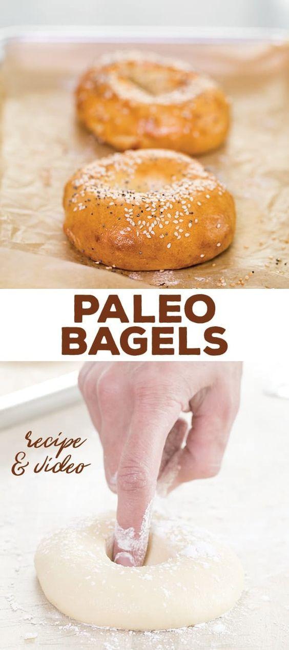 Authentic Paleo Bagels | Food, Food recipes, Bagel recipe