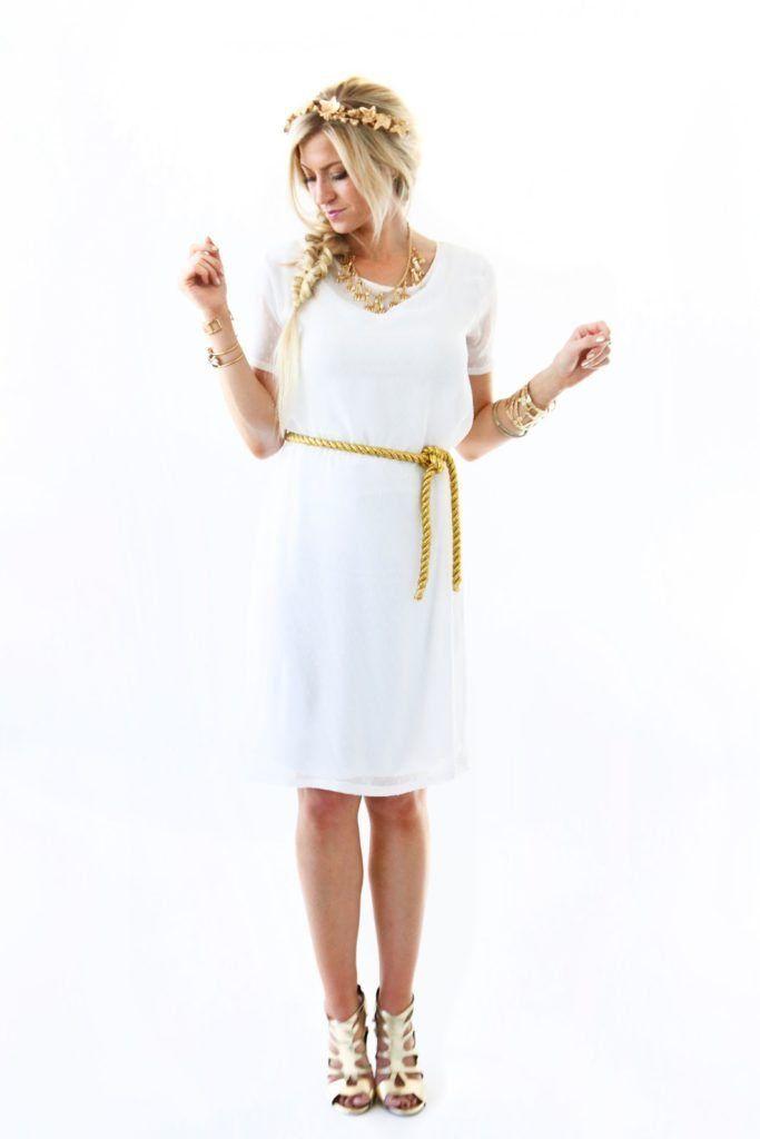 THE MODERN GIRLS HALLOWEEN WEEK: GRECIAN GODDESS COSTUME   Elle Apparel by Leanne Barlow