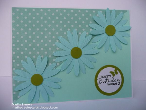 CMCC12 Pretty Flowers by marthacreates - Cards and Paper Crafts at Splitcoaststampers