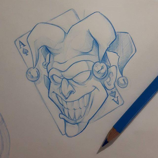 Joker #ozer #tatouage #tattoo #graffiti #loveletters # ...