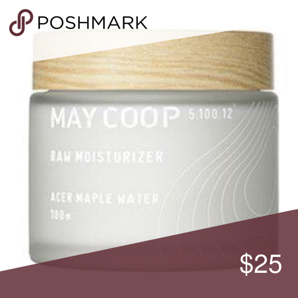 May Coop raw maple moisturizer Korean beauty! A super popular Korean beauty product that you cannot get in the states. May Coop raw moisturizer with maple water, aloe, baobab tree and cactus extracts. It has been opened, but only used a tiny sample to try. Brand new- purchased recently. May Coop Other