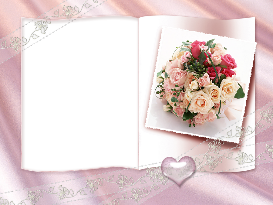 Днем, как сделать открытку свадьба в фотошопе