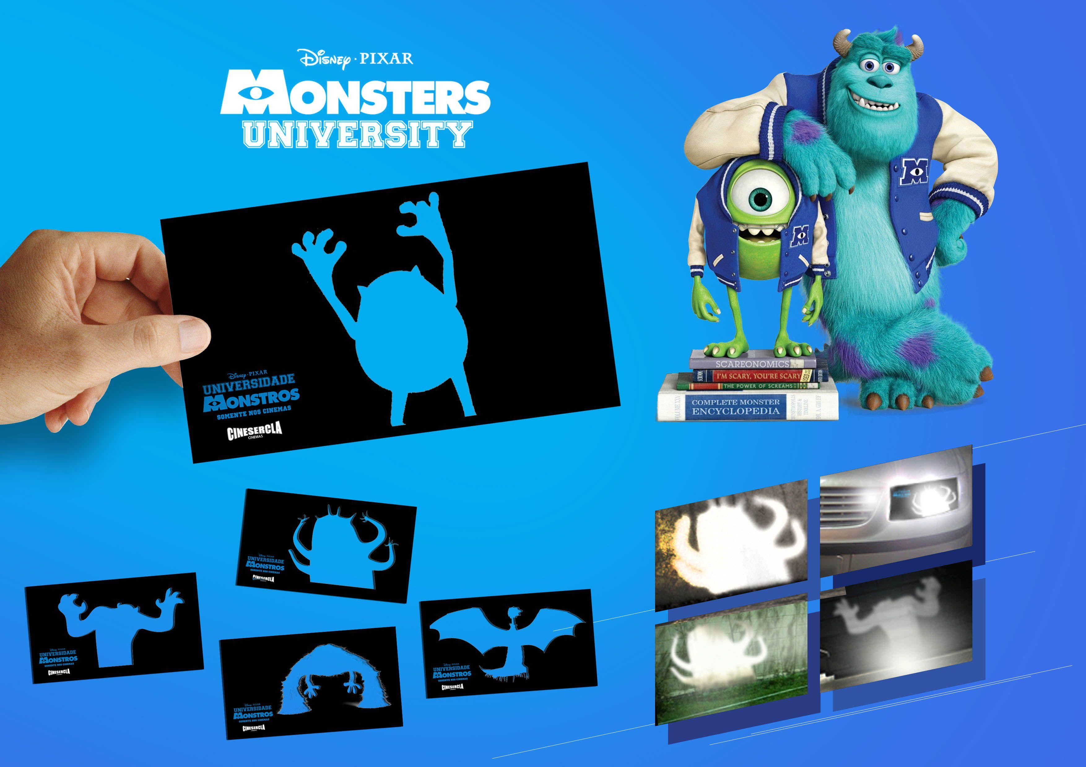 Que paja la idea de jugar con la luz para promocionar Disney Pixar ...