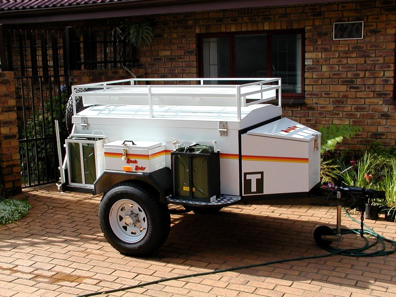 hight resolution of off road trailers the venter trailer needs only one modification from standard to be