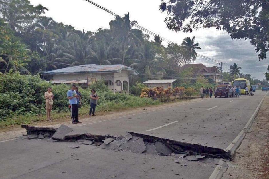 Earthquake In Philippines Today Earthquake Hits Loboc