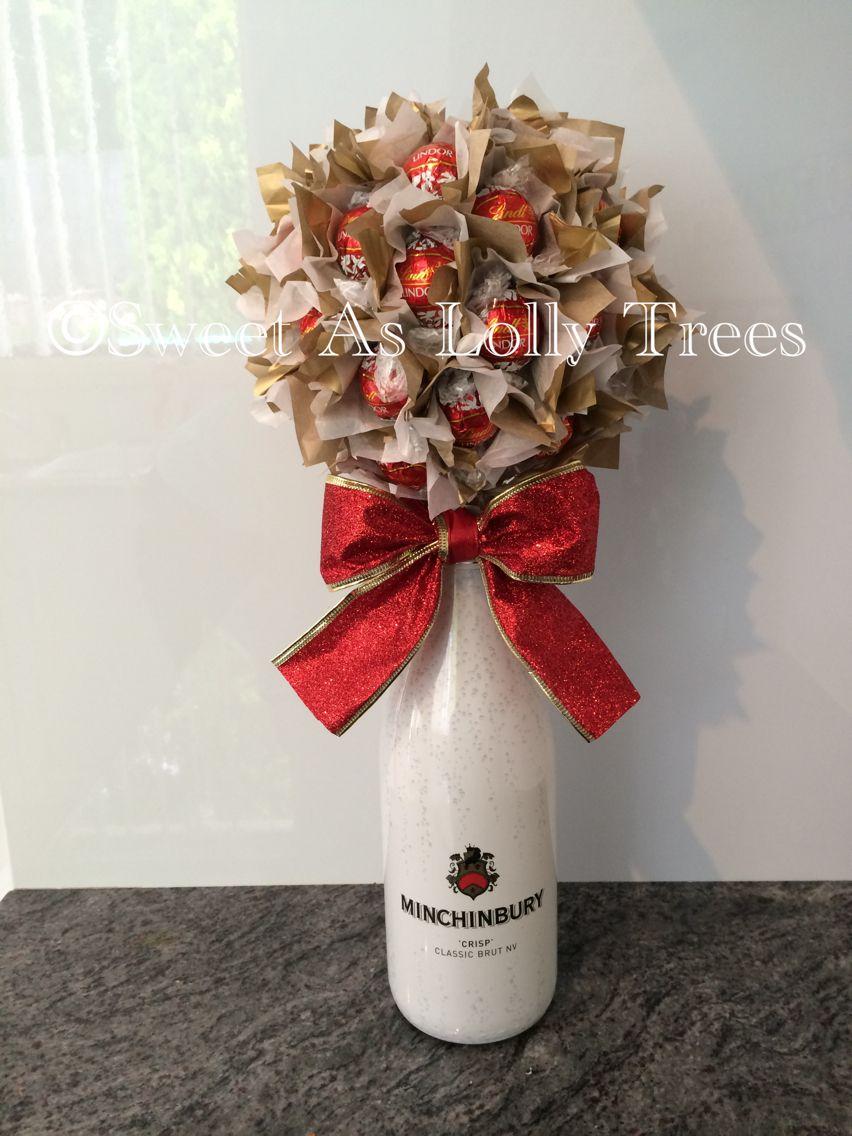 Ferrero Rocher Amp Champagne Bottle Base Lolly Tree