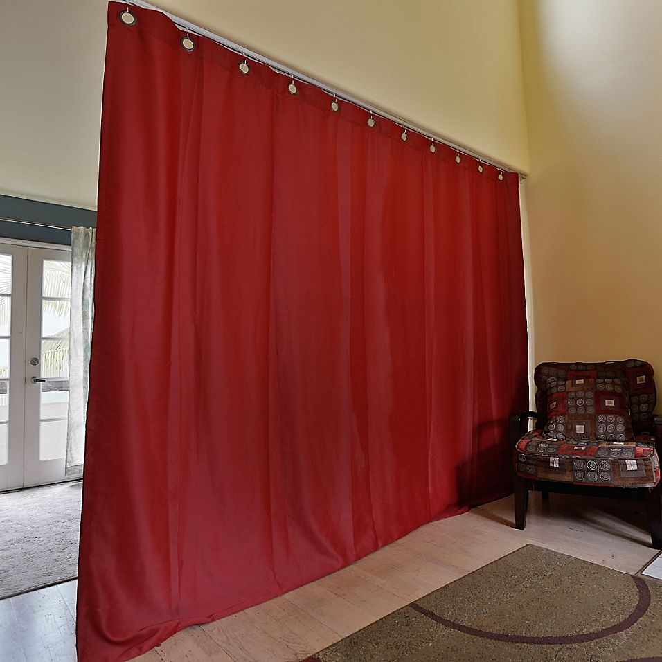 Roomdividersnow Large Ceiling Track Room Divider Kit B With 9