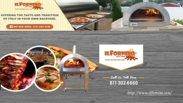 Bring a different and delicious taste in your pizza with wood fired pizza oven.