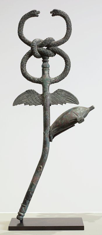 Caduceus Is The Staff Carried By Hermes In Greek Mythology It Is A
