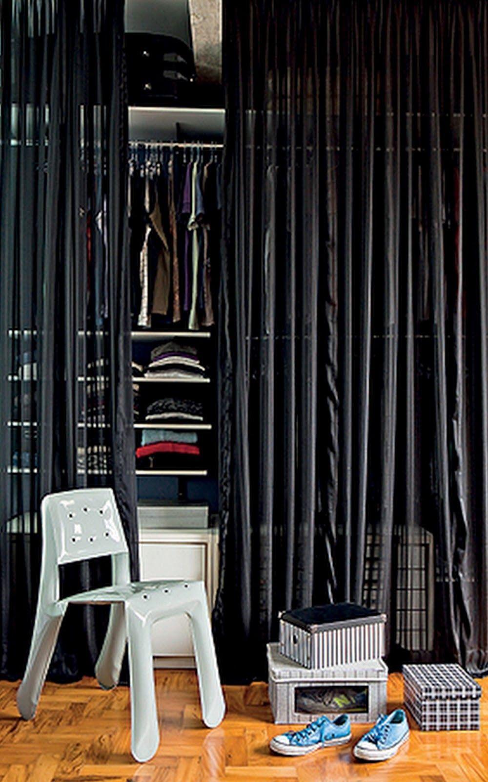 porta cortina closet - Pesquisa Google