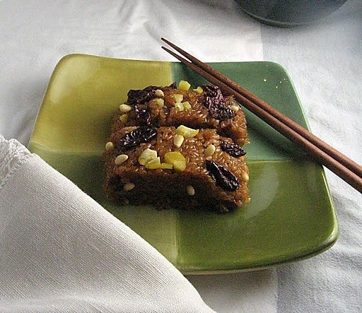 Yaksik (Sweet Sticky Rice) | Sweets-Other | Sweet sticky ...