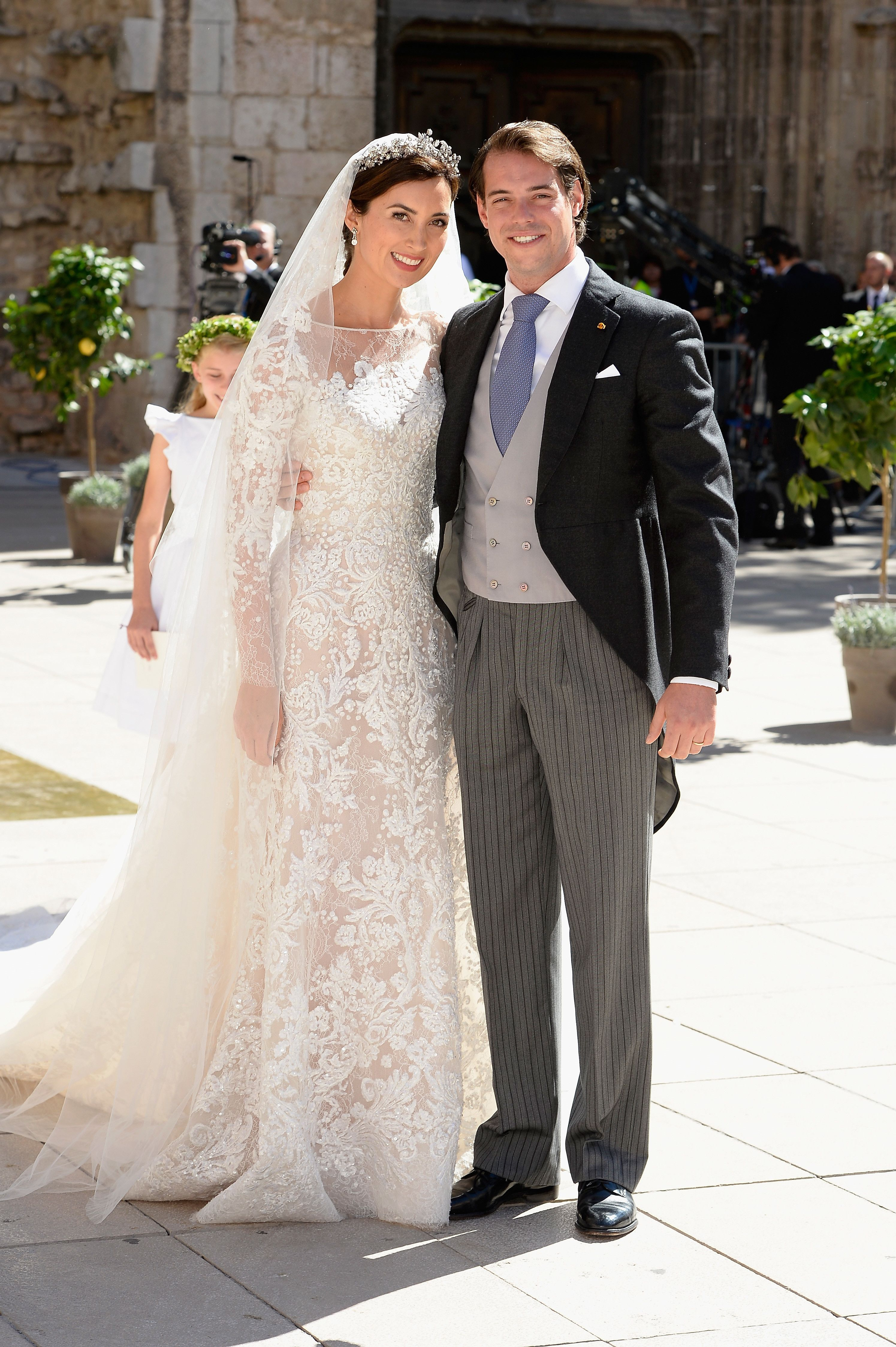 Princess Claire Of Luxembourg 2013 Royal Wedding Gowns Royal Wedding Dress Royal Brides [ jpg ]