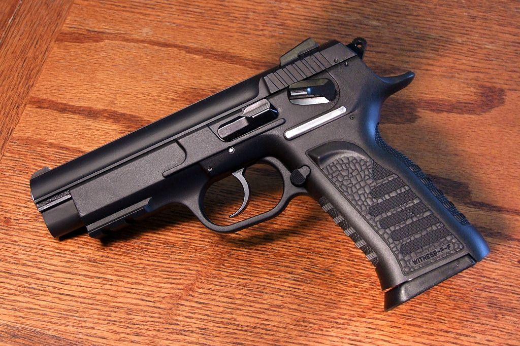 EAA Tanfoglio Witness - 9x19mm   Weapons   Guns, Hand guns