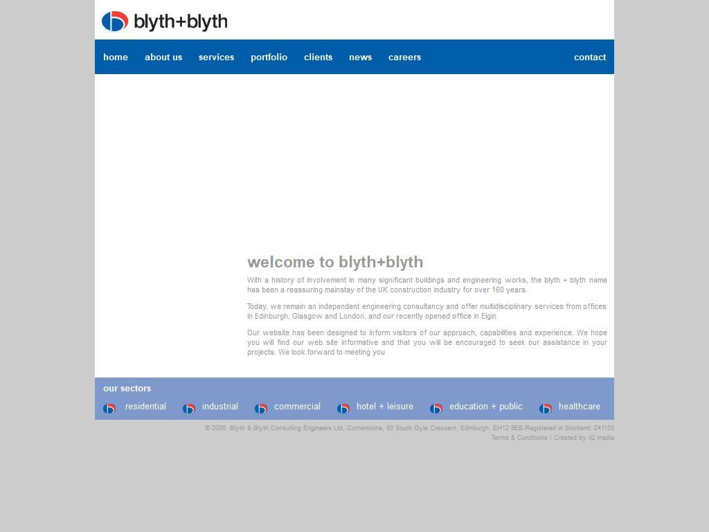 Blyth & Blyth Consulting Engineers Ltd Engineers - Consulting 31-35 ...