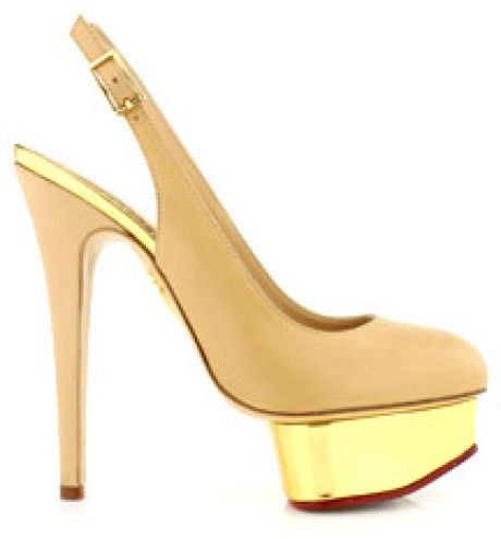 Love this: Nude Slingback @Lyst