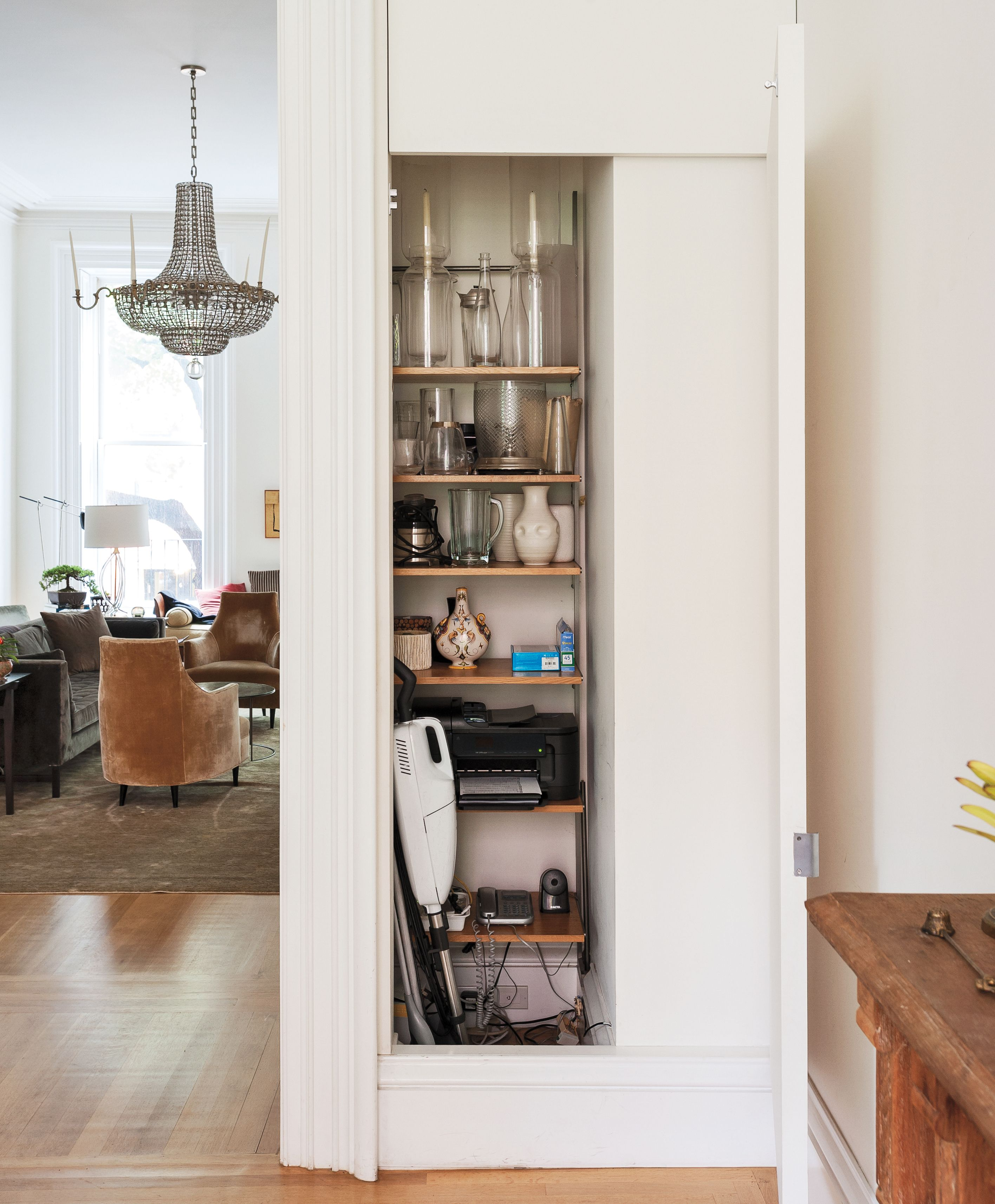Wonderful Francesca Connolly Pocket Closet Storage In Her Brooklyn Dining Room