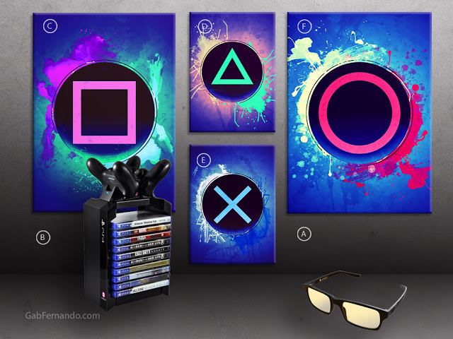 Playstation 4 or PS4 | Displate thumbnail