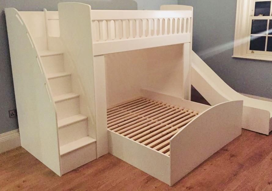 Bunk Beds With Drawer Stairs And A Slide Bunk Beds With Drawers