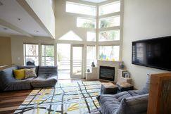 Modern, contemporary beach house located in Hermosa Beach CA.