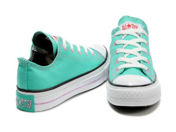 d4d6ae255c05 Converse Japan Style Low Top Green Canvas Shoes
