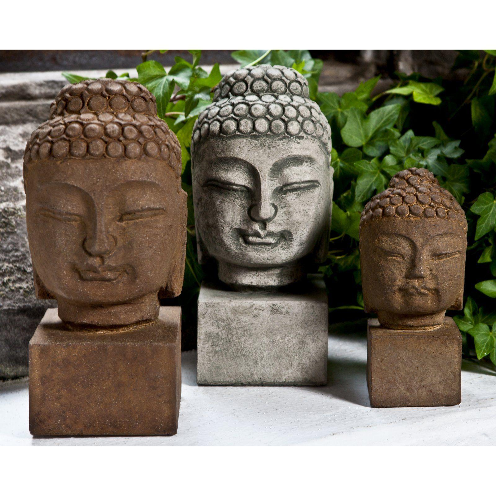 Campania International Medium Serene Buddha Garden Statue
