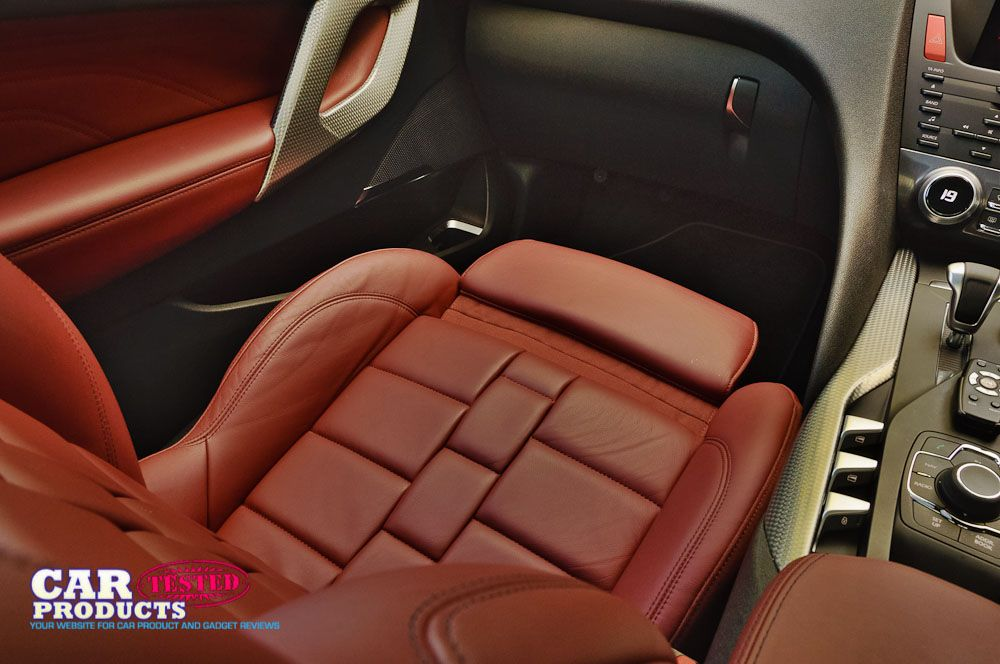 We loved the seats on the Citroen DS5 dsport Hybrid4 has these