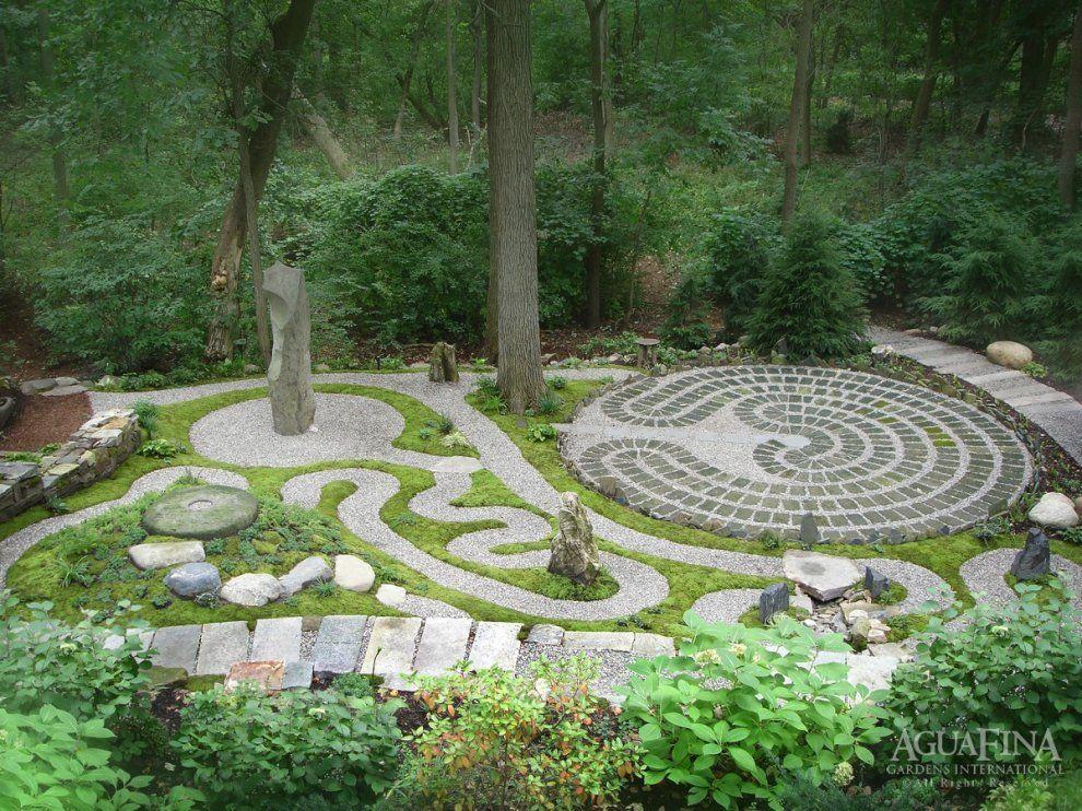 Spiritual Garden A project by AguaFina Gardens International