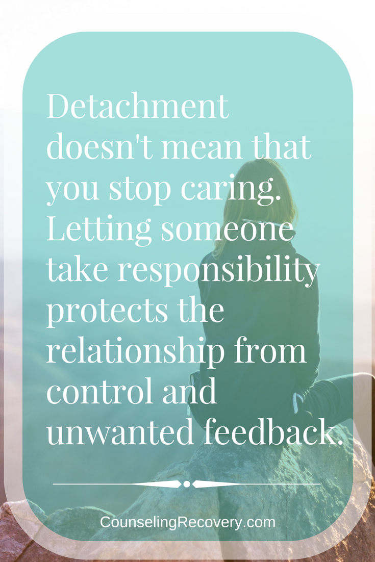 Letting go of control in relationships