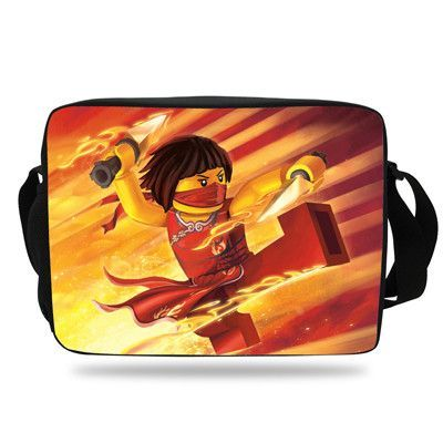 22b2d1e103 Cool Cartoon Bag For School Kids Messenger Bag For Girls Boys Ninjago Single  Shoulder Messenger Bag For Children Student Teenage