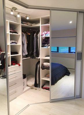 Irregular Corner Wardrobe | Slideglide - Sliding wardrobes and storage solutions provider | Ireland, Kilkenny, Dublin, Nenagh, Limerick, Cork, Donegal