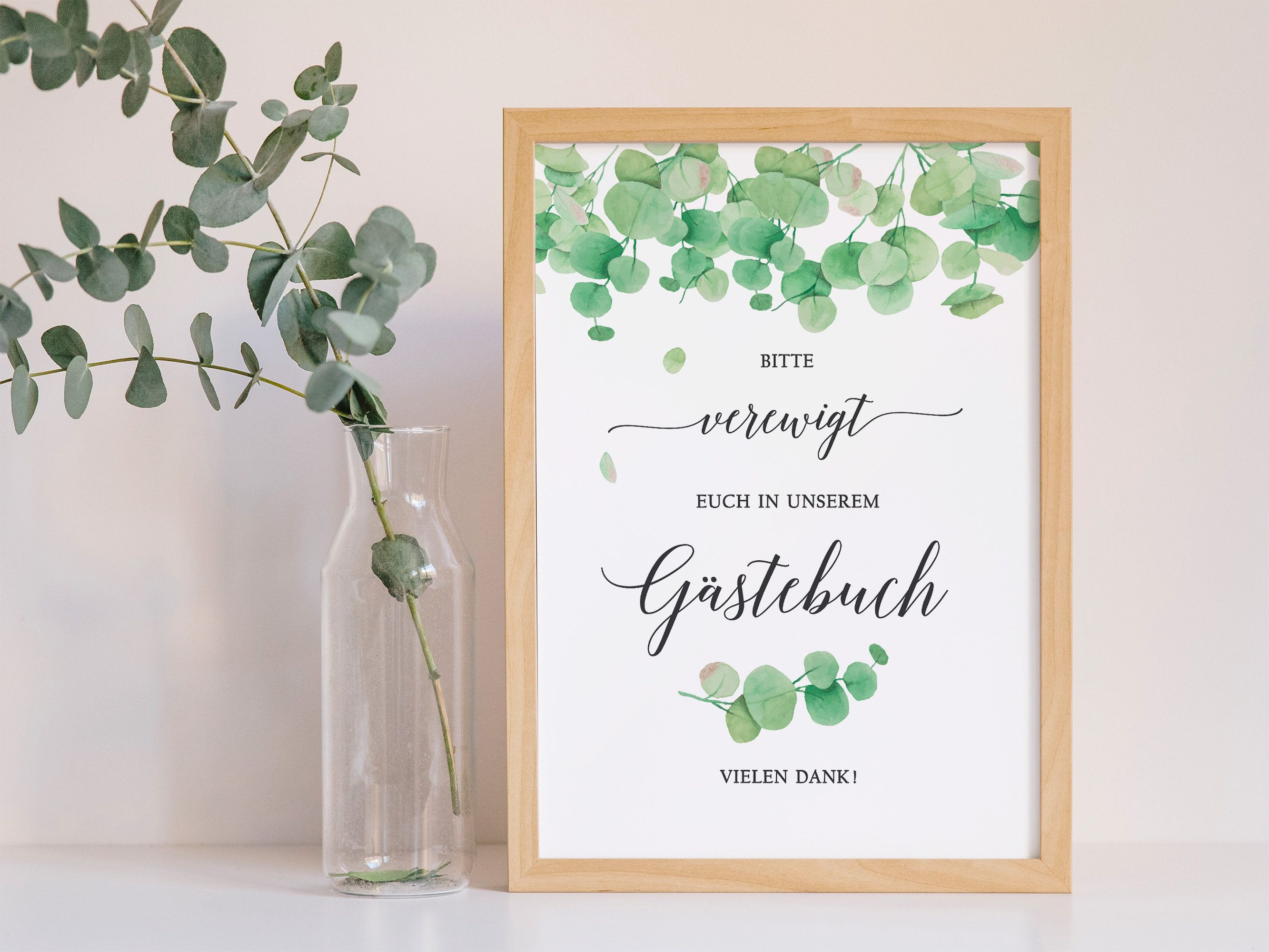 Hochzeit Gastebuch Schild Greenery Bitte Verewigt Euch Eukalyptus Grun Weiss Gold Vintage Hochzeitsgastebuch Ausdruck Gastebuch Hochzeit Hochzeitsschilder Gastebuch Schild