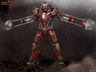 Film Sketchr: IRON MAN 3 Concept Art by Andy Park, Rodney Fuentabella and Josh Nizzi
