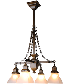 Arts And Crafts Style Chandeliers: Interior Craftsman, Bungalow, Mission, Arts and Crafts Style Lighting - Old  California Lantern,Lighting