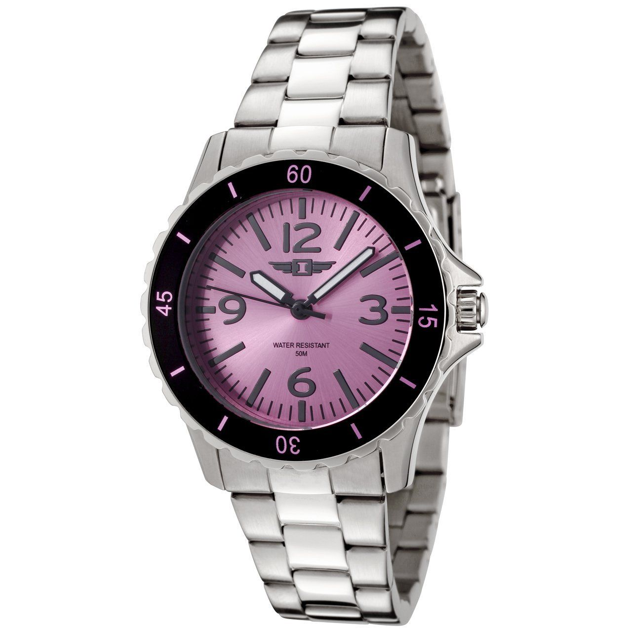 I By Invicta Women S 89051 003 Stainless Steel Watch Casual Watch Invicta Womens Watches Stainless Steel Watch Women Japanese Quartz Stainless Steel Clasp