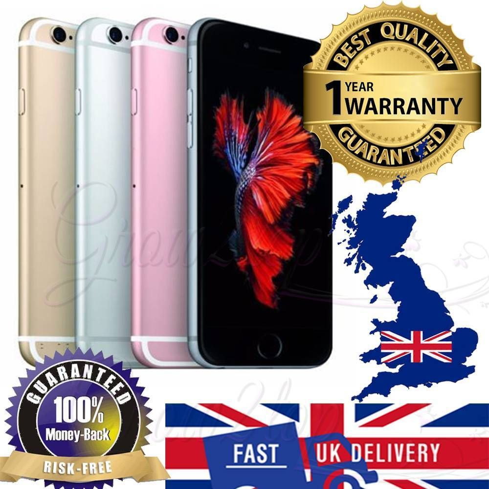 Le Iphone 6 S Plus 16gb 64gb 128gb Unlocked Free Smartphone Grade A