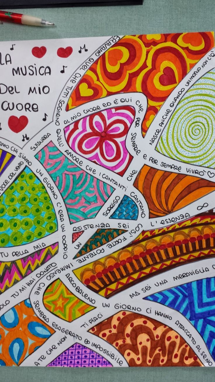 Arte Visual Tipos Interesting Art Dibujos Zentangle Terapia Del Arte Aula De