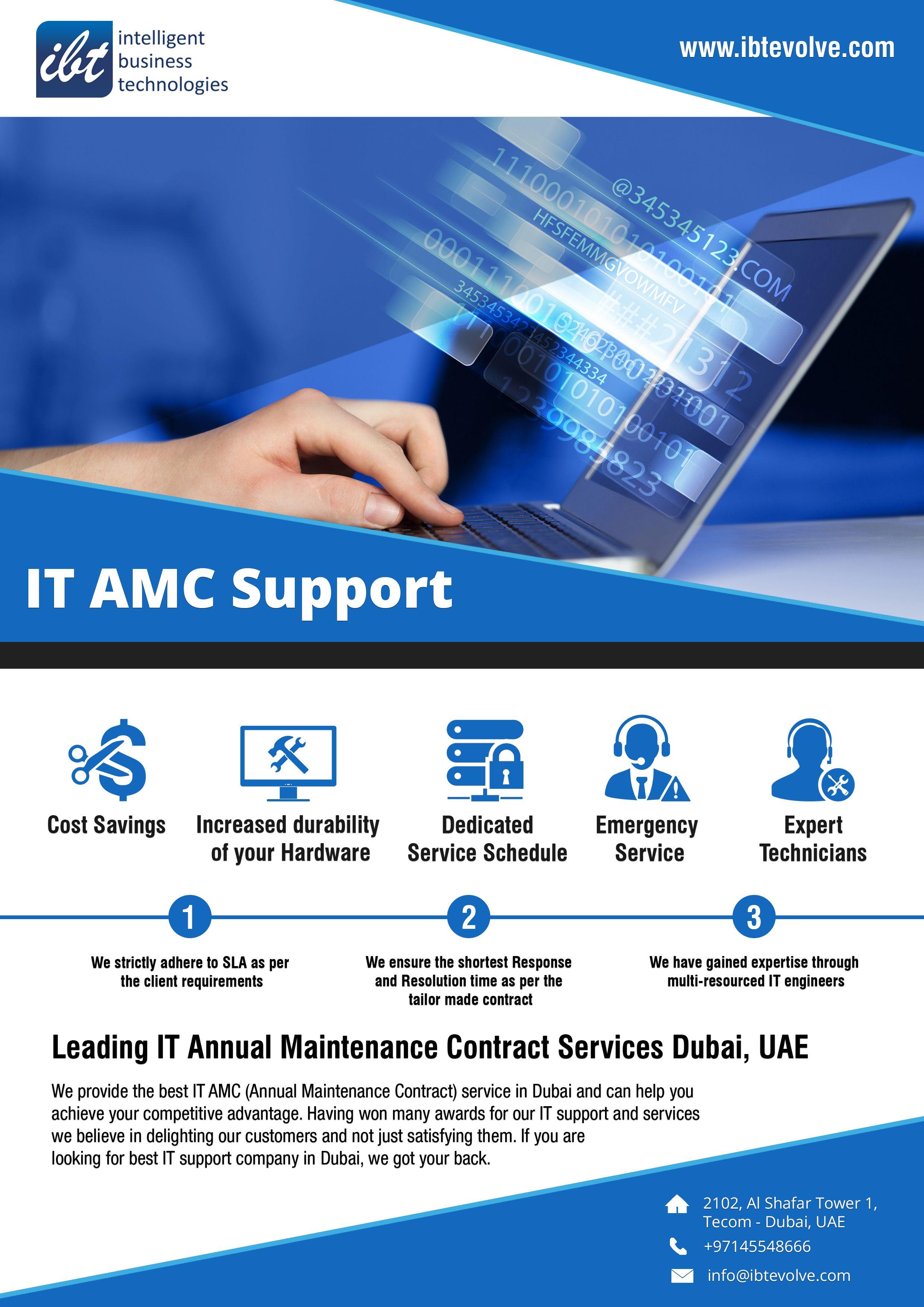 It Amc Provider Dubai Uae Computer Maintenance Technology Companies In Dubai