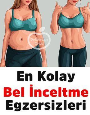 En Kolay Bel İnceltme Egzersizleri #fitness #exercise